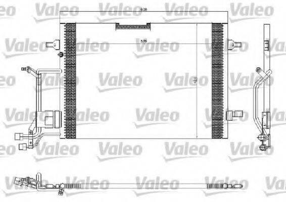 VALEO 816967 Конденсатор, кондиционер