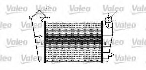 VALEO 817624 Интеркулер
