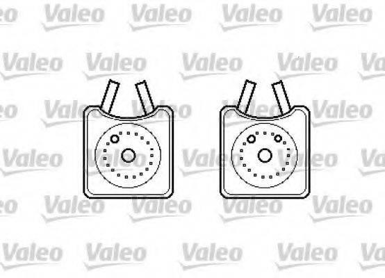 VALEO 817989 масляный радиатор, двигательное масло