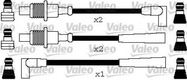 VALEO 346649 Комплект проводов зажигания