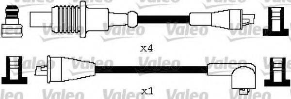 VALEO 346396 Комплект проводов зажигания