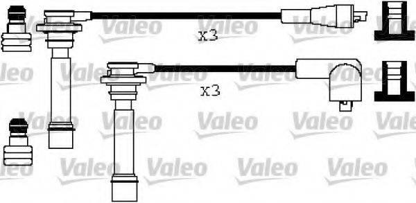 VALEO 346275 Комплект проводов зажигания