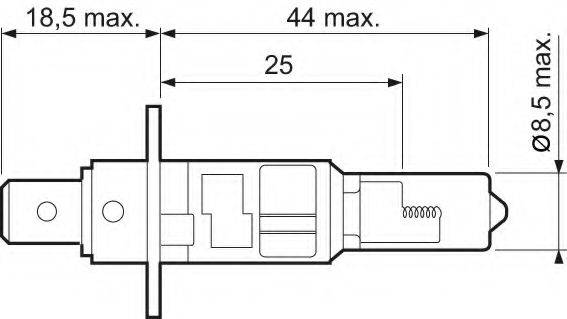 VALEO 032003 Лампа накаливания, фара дальнего света; Лампа накаливания, основная фара; Лампа накаливания, противотуманная фара; Лампа накаливания, основная фара; Лампа накаливания, фара дальнего света; Лампа накаливания, противотуманная фара; Лампа накаливания, фара с авт. системой стабилизации; Лампа накаливания, фара с авт. системой стабилизации