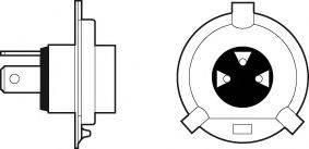 VALEO 032509 Лампа накаливания, фара дальнего света; Лампа накаливания, основная фара; Лампа накаливания, противотуманная фара; Лампа накаливания, основная фара; Лампа накаливания, фара дальнего света; Лампа накаливания, противотуманная фара