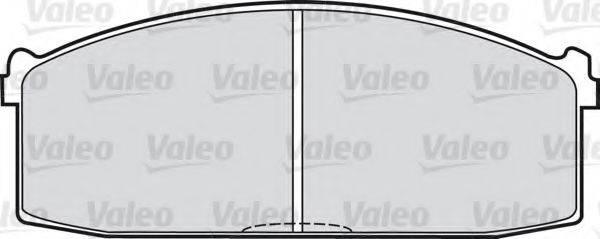 VALEO 540410 Комплект тормозных колодок, дисковый тормоз
