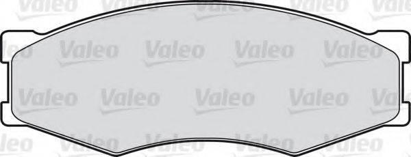 VALEO 540460 Комплект тормозных колодок, дисковый тормоз