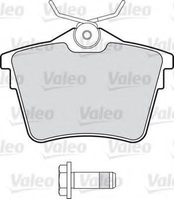 VALEO 598664 Комплект тормозных колодок, дисковый тормоз