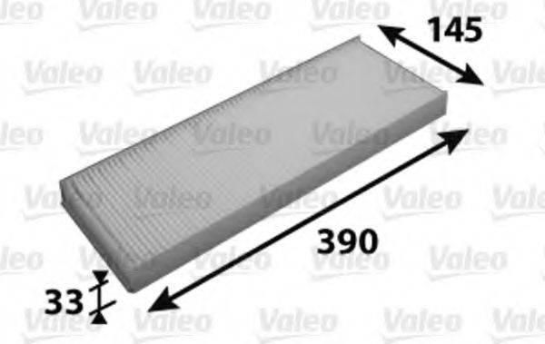 VALEO 716064 Фильтр, воздух во внутренном пространстве