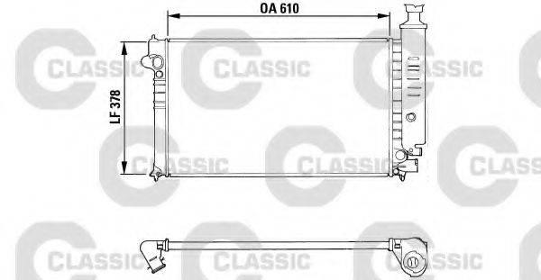 VALEO 310919 Радиатор, охлаждение двигателя