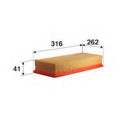 VALEO 585038 Воздушный фильтр