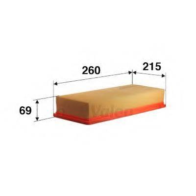 VALEO 585094 Воздушный фильтр