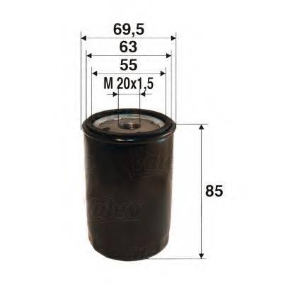 VALEO 586021 Масляный фильтр
