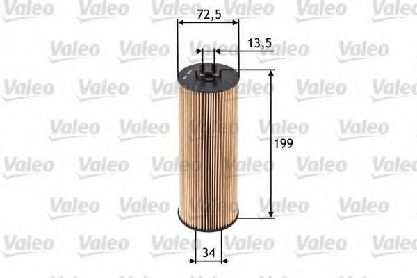 VALEO 586520 Масляный фильтр