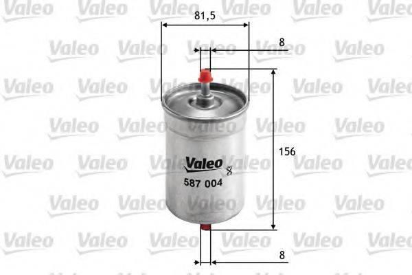 VALEO 587004 Топливный фильтр
