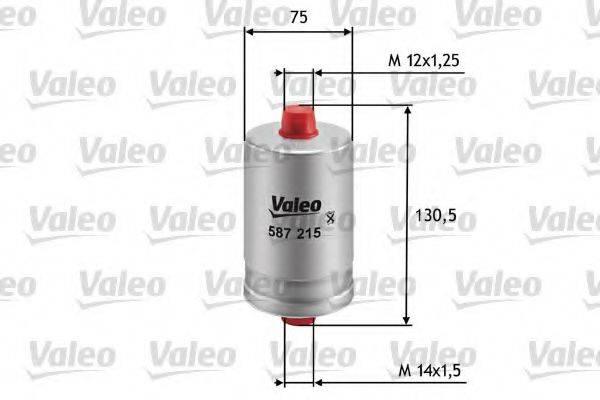 VALEO 587215 Топливный фильтр