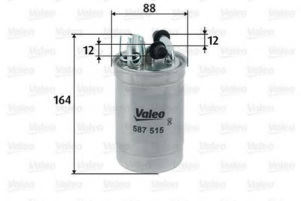 VALEO 587515 Топливный фильтр