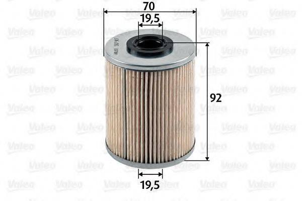 VALEO 587907 Топливный фильтр