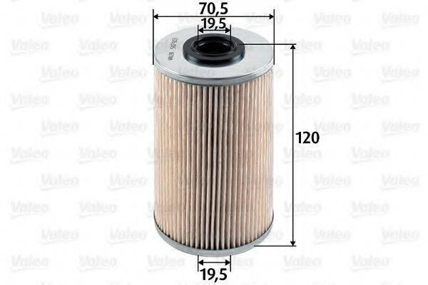 VALEO 587913 Топливный фильтр