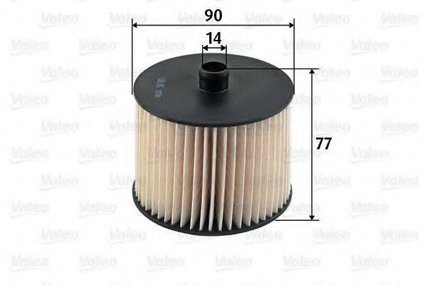 VALEO 587915 Топливный фильтр