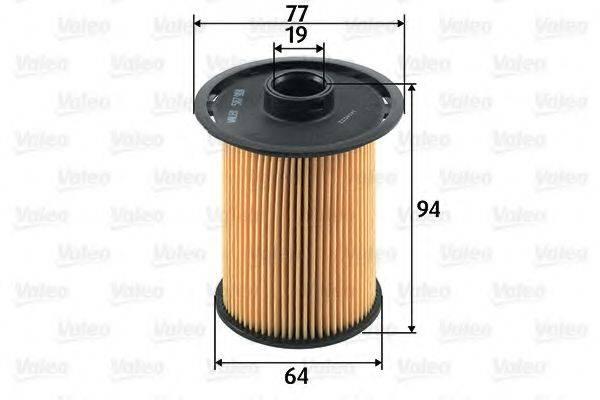 VALEO 587918 Топливный фильтр