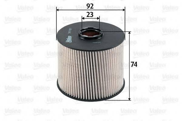 VALEO 587927 Топливный фильтр