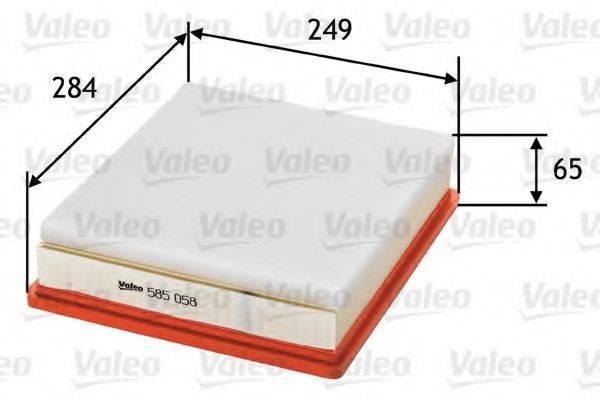 VALEO 585058 Воздушный фильтр