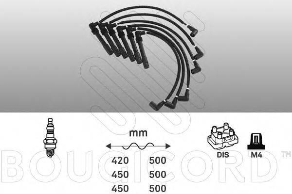 BOUGICORD 8109 Комплект проводов зажигания