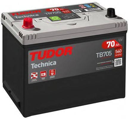 TUDOR TB705 Стартерная аккумуляторная батарея; Стартерная аккумуляторная батарея