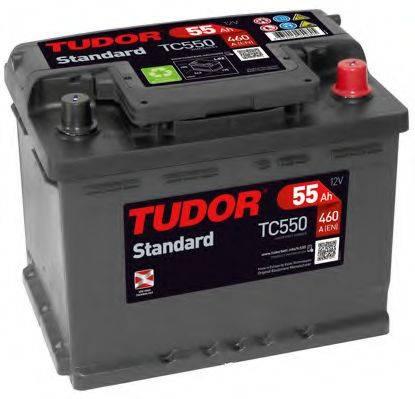 TUDOR TC550 Стартерная аккумуляторная батарея; Стартерная аккумуляторная батарея
