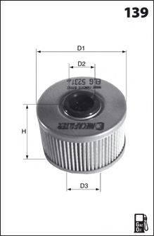 MECAFILTER ELG5238 Топливный фильтр