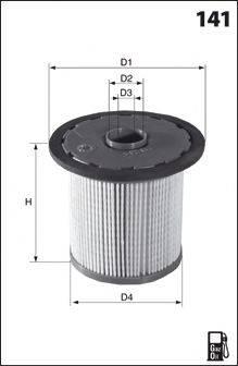 MECAFILTER ELG5273 Топливный фильтр