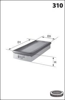 MECAFILTER 100 Воздушный фильтр