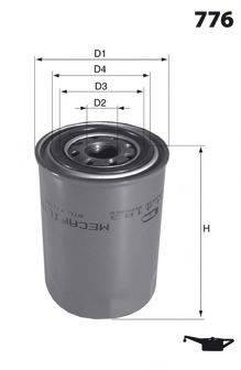 MECAFILTER ELH4144 Масляный фильтр