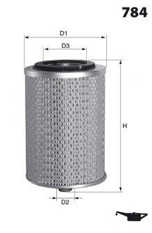 MECAFILTER ELH4714 Масляный фильтр