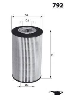 MECAFILTER ELH4358 Масляный фильтр