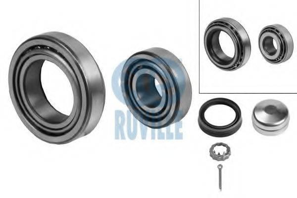 RUVILLE 5450 Комплект подшипника ступицы колеса