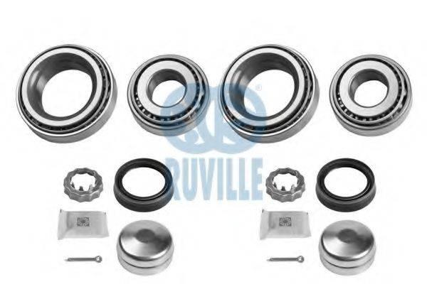 RUVILLE 5450D Комплект подшипника ступицы колеса