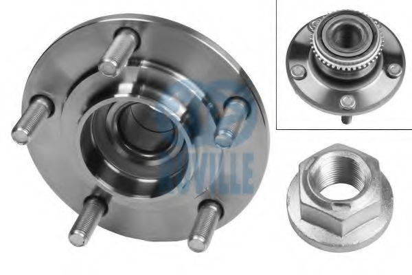 RUVILLE 8958 Комплект подшипника ступицы колеса