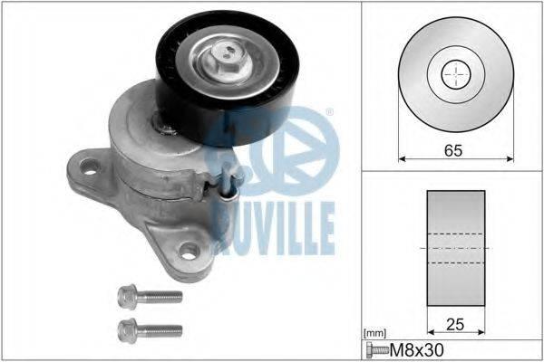 RUVILLE 56653 Натяжная планка, поликлиновой ремень