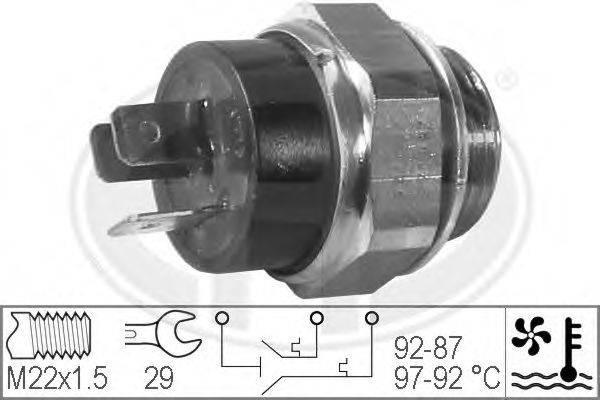 ERA 330207 Термовыключатель, вентилятор радиатора