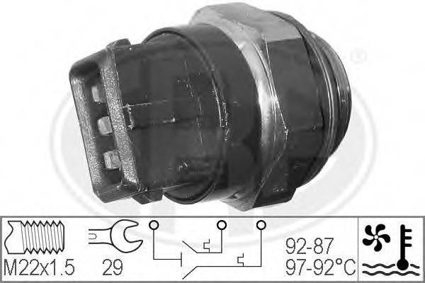 ERA 330272 Термовыключатель, вентилятор радиатора