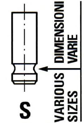 IPSA VL203300 Впускной клапан