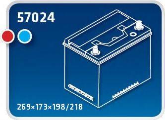 IPSA TMA70L Стартерная аккумуляторная батарея