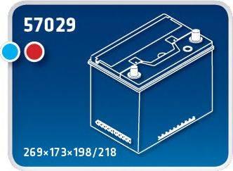 IPSA TMA70 Стартерная аккумуляторная батарея