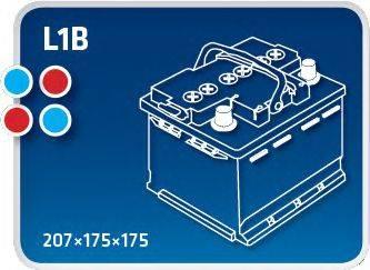 IPSA TM45 Стартерная аккумуляторная батарея