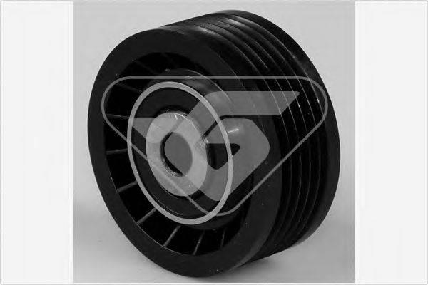 HUTCHINSON T0376 Натяжной ролик, поликлиновой  ремень