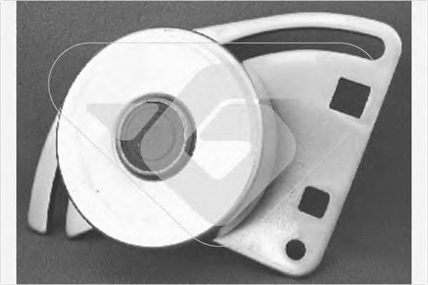 HUTCHINSON T0016 Натяжной ролик, поликлиновой  ремень