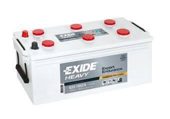 EXIDE ED1803 Стартерная аккумуляторная батарея; Стартерная аккумуляторная батарея