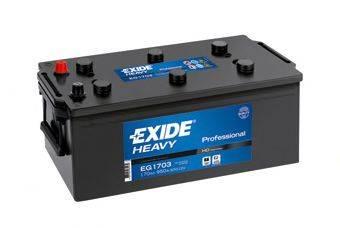 EXIDE EG1703 Стартерная аккумуляторная батарея; Стартерная аккумуляторная батарея
