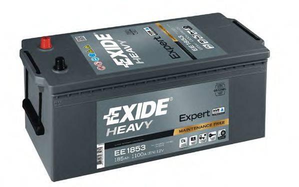 EXIDE EE1853 Стартерная аккумуляторная батарея; Стартерная аккумуляторная батарея